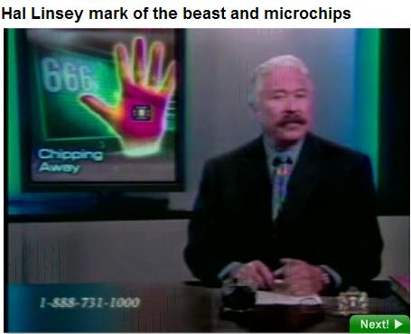 Hal Lindsey on the Mark of the Beast