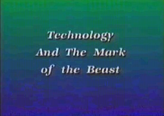 technology and the Mark of the Beast